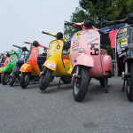 2011,6,5 VespaGP 2nd Stage in CircuitAKIGASE