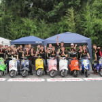 2012,7,1 VespaGP 2nd Stage in CircuitAKIGASE
