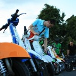 2012,9,16 VespaGP 3rd Stage in CircuitAKIGASE