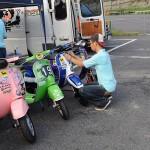 2010,8,29 VespaGP 4th Stage in NikkoCircuit Part,4