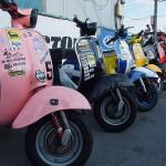 2011,9,25 VespaGP 3rd Stage in CircuitAKIGASE