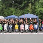 2012,7,1 VespaGP 2nd Stage in CircuitAKIGASE